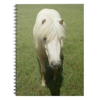White Pony Spiral Notebook