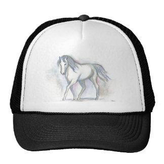 White Pony Trucker Hat