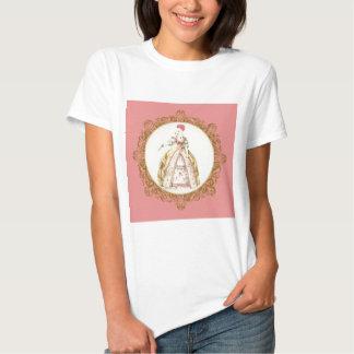 White Poodle Marie Antoinette Tee Shirt
