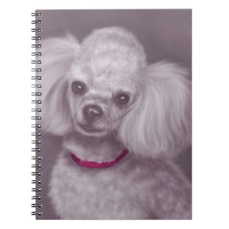 White Poodle Notebook