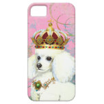 White Poodle Princess iPhone 5 Cases