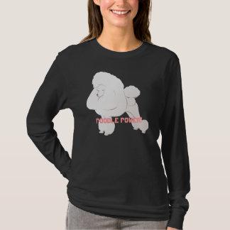 White Poodle Shirt