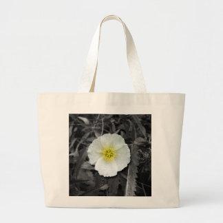 White Poppy After the Rain Bag