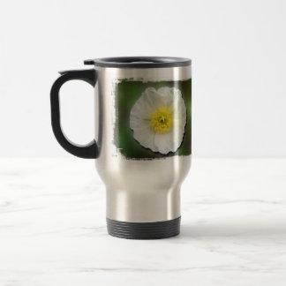White Poppy Blur; No Text Coffee Mug