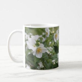 White Prairie Rose Mug