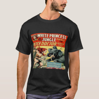 White Princess of the Jungle Classic Cover #2 Dark T-Shirt