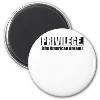 White Privilege Magnet