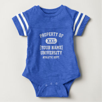 White Property of [Your Name] University Funny Tshirt