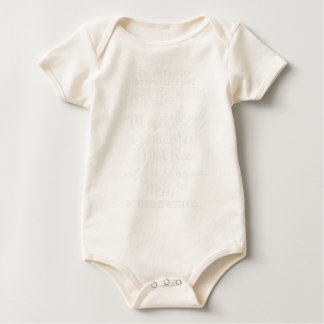 White Proverbs 28 1 Wanted to Go Jogging but Lazy Baby Bodysuit