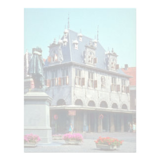 White Public weigh-house, Hoorn flowers Personalized Letterhead