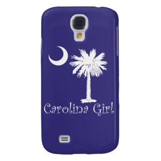 White/Purple Carolina Girl iPhone 3G/3GS Case Galaxy S4 Cover