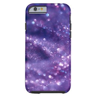 White & PURPLE GLITTER BOTEK SPACE FANTASY SCIENC iPhone 6 Case