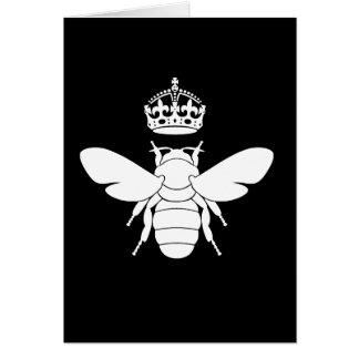 Queen Bee Logo White Queen Bee...