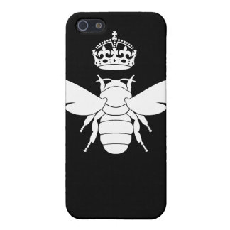 White Queen Bee Logo...Are You A Queen Bee? iPhone 5 Covers