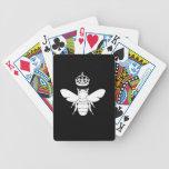 White Queen Bee Logo...Are You A Queen Bee? Card Decks