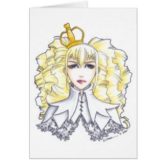White Queen Card