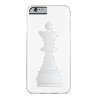 White queen chess piece barely there iPhone 6 case