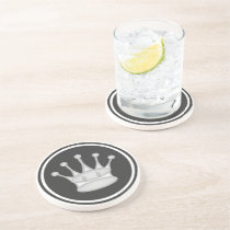 White Queen Chess Piece Coaster