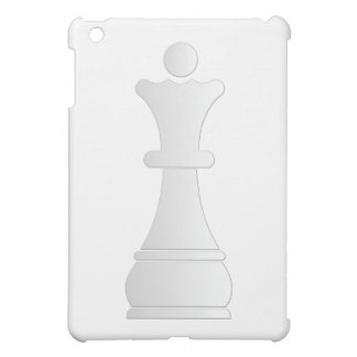 White queen chess piece cover for the iPad mini