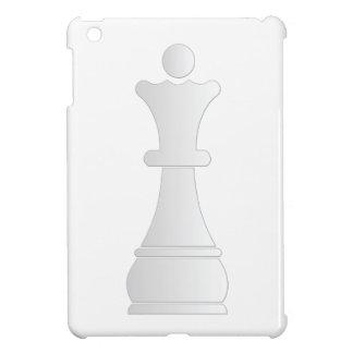 White queen chess piece iPad mini cover
