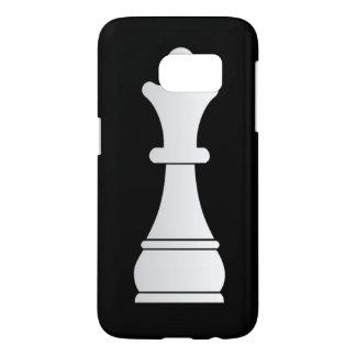 White queen chess piece samsung galaxy s7 case