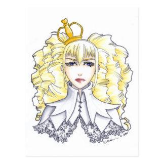 White Queen Postcard