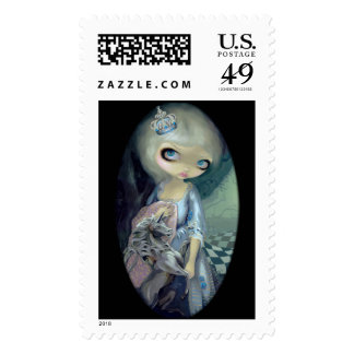 """White Queen"" Stamp"