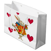 White Rabbit 1 Large Gift Bag