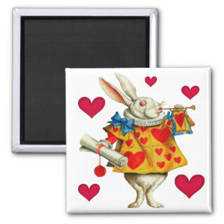 White Rabbit 1 Magnet