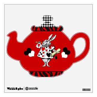 White Rabbit 5 Wall Sticker