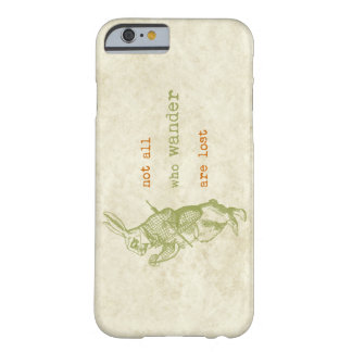 White Rabbit, Alice in Wonderland Barely There iPhone 6 Case