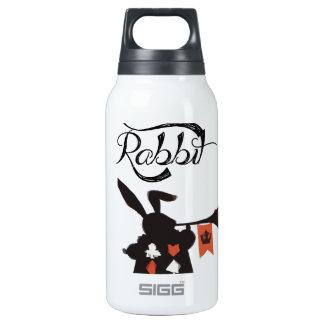 White Rabbit, Alice In Wonderland Insulated Water Bottle