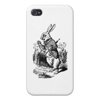 White Rabbit - Alice in Wonderland Covers For iPhone 4