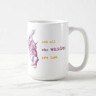 White Rabbit, Alice in Wonderland Mugs