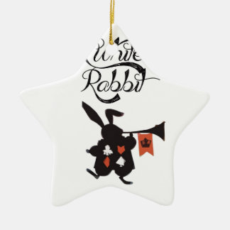 White Rabbit, Alice In Wonderland Ornaments