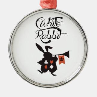 White Rabbit, Alice In Wonderland Christmas Tree Ornament