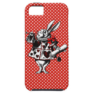 White Rabbit Alice In Wonderland Phone Case iPhone 5 Cover
