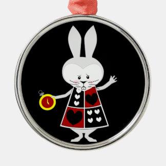 White Rabbit - Alice's Adventures in Wonderland Christmas Tree Ornaments