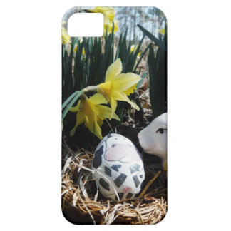 White rabbit and cow egg iPhone SE/5/5s case