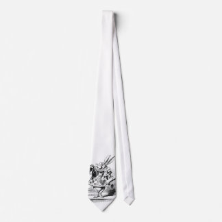White Rabbit as Herald Tie