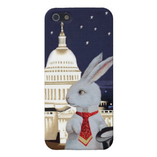 White Rabbit at Capitol in Washington, DC Cover For iPhone SE/5/5s