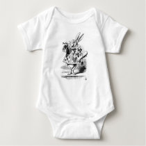 White Rabbit Baby Bodysuit