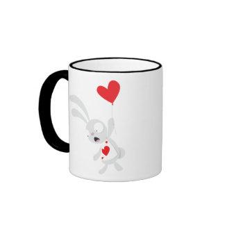 White Rabbit Balloon - Mug