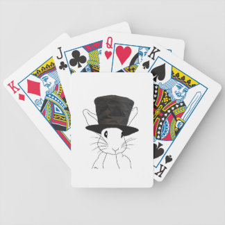 White Rabbit Bicycle Playing Cards