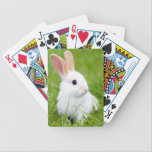 "White Rabbit Bicycle Playing Cards<br><div class=""desc"">For rabbit lovers</div>"