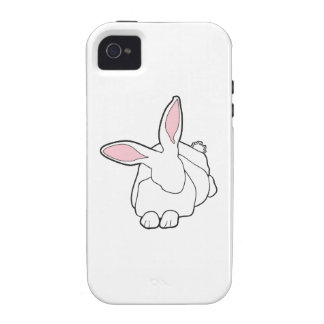 White Rabbit Case-Mate iPhone 4 Cover