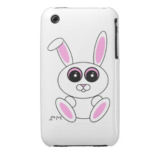 White Rabbit Case-Mate iPhone 3 Case