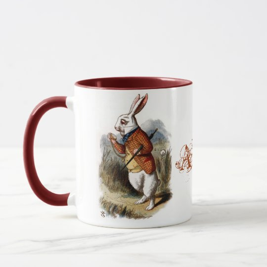 White Rabbit (color) Mug