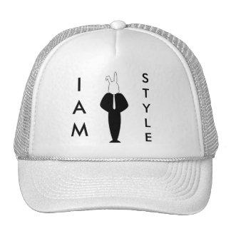 White Rabbit Design Trucker Hat