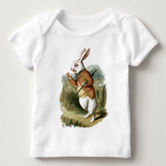 White Rabbit from Alice in Wonderland Baby T-Shirt